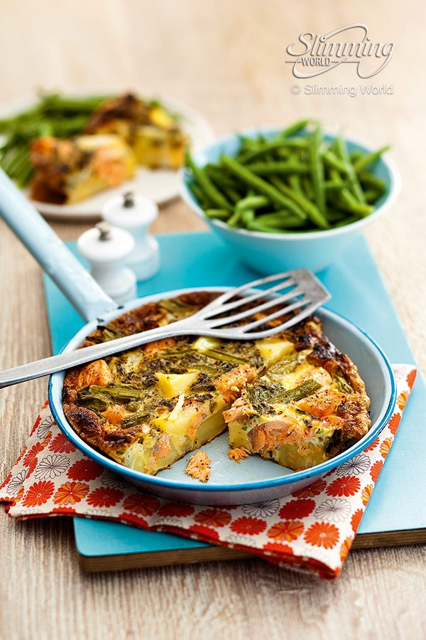 Slimming World On Twitter If You Re A Fan Of Salmon This Frittata Is Perfect For Lunch Or Dinner Https T Co Uvjagw6frk