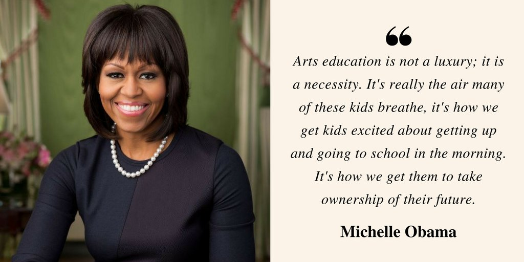 #Arts education is NOT an afterthought. #WednesdayWisdom #ArtsEd #ArtsAdvocacy https://t.co/JtZ13DtbC3