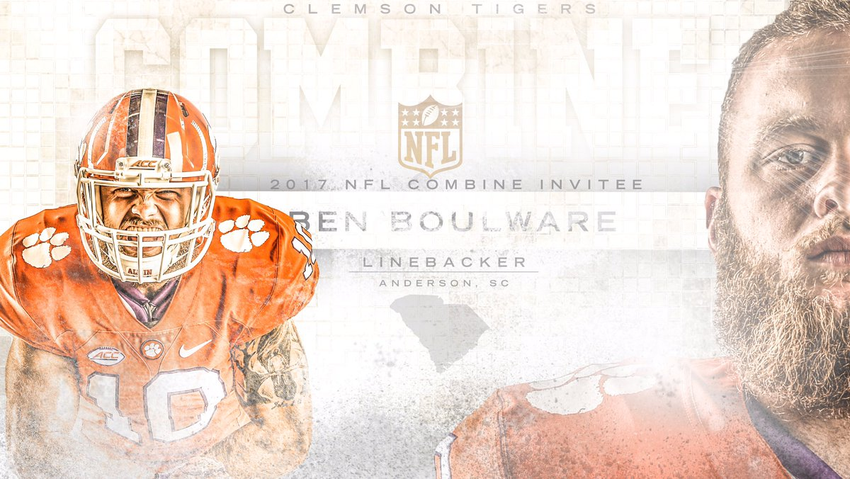 Junk. Yard. Dog.   See you in Indy, @benboulware7.  #ClemsonFamily #Cl...
