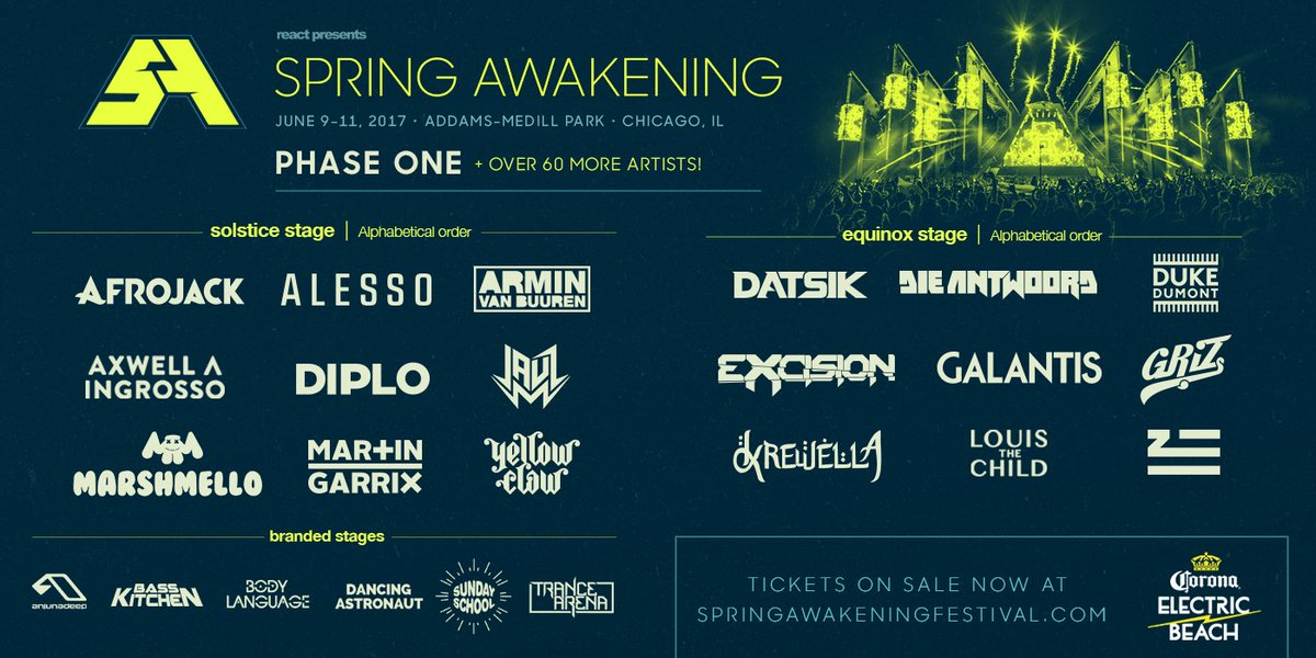 Phase 1 Lineup Announced!