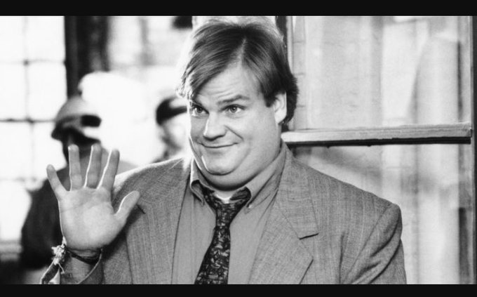 Happy 53 birthday to Chris Farley! Thank you for teaching me to be myself.
