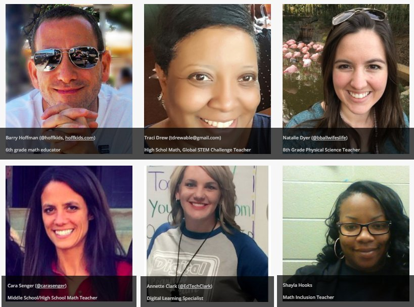 Here's our new Formative Eds! Follow+connect w/them abt #goformative ! @EdTechClark @carasenger @bballwifeslife @hoffkids #pete2017  #METC17 https://t.co/MqMpovMvES