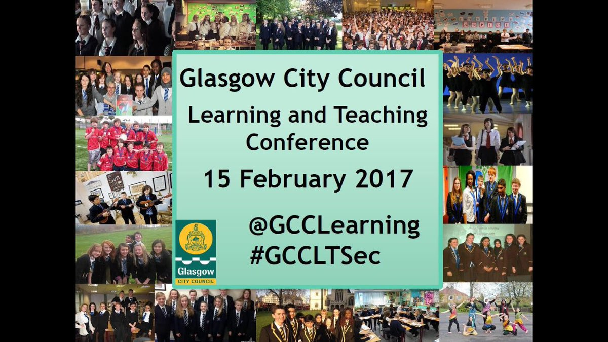 Feeling enthused, motivated and challenged after attending Glasgow City Council Learning and Teaching conference. #GCCLTSec <br>http://pic.twitter.com/Ze5ZCrqPQj