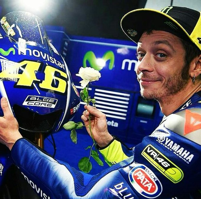 Another party begins    Happy Birthday Valentino Rossi