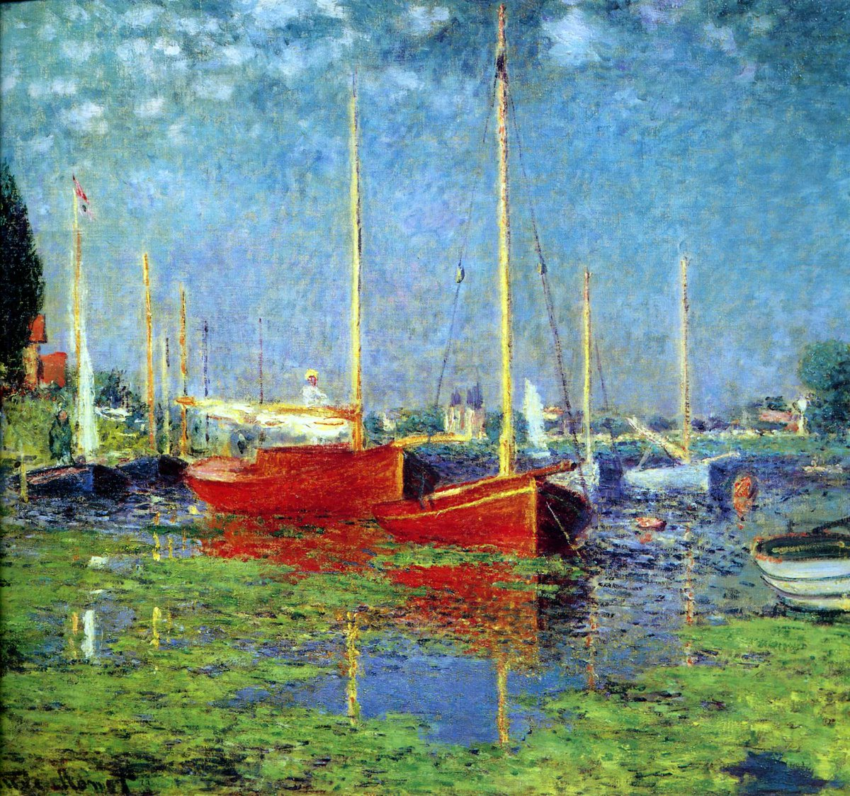 ~Argenteuil,1875~#ClaudeMonet #Awesome #Art #Gallery #MiercolesDeGanarSeguidores #Wednesday #Picture #Impressionism #FelizMiercoles #Amazing<br>http://pic.twitter.com/IsE3HuRDk3
