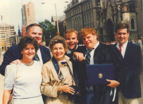 Today would have been Chris Farley's 53rd birthday. We miss him. https://t.co/74swfCCKTL