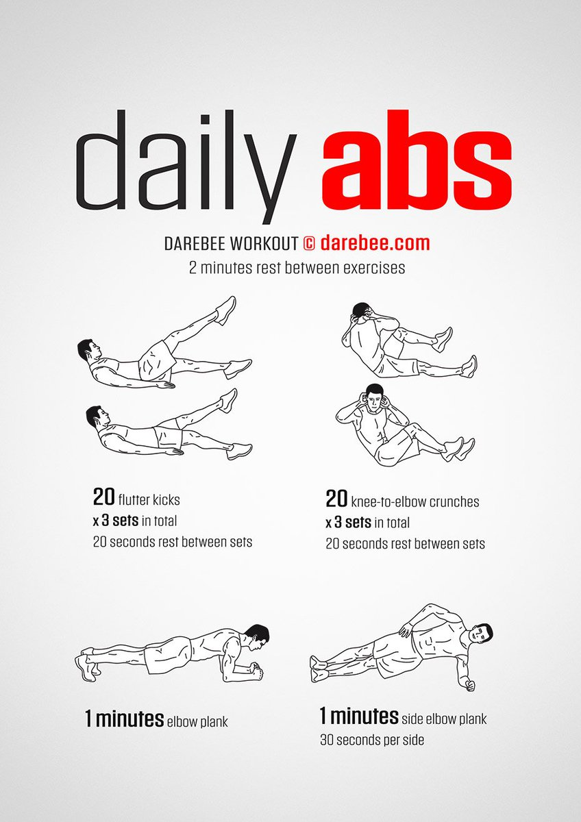 Standing Ab Workout Routine