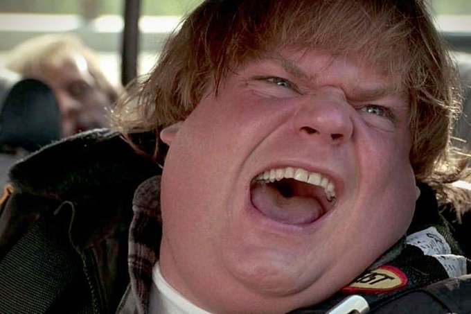 Happy 53rd birthday to my idol since childhood, the late, great Chris Farley