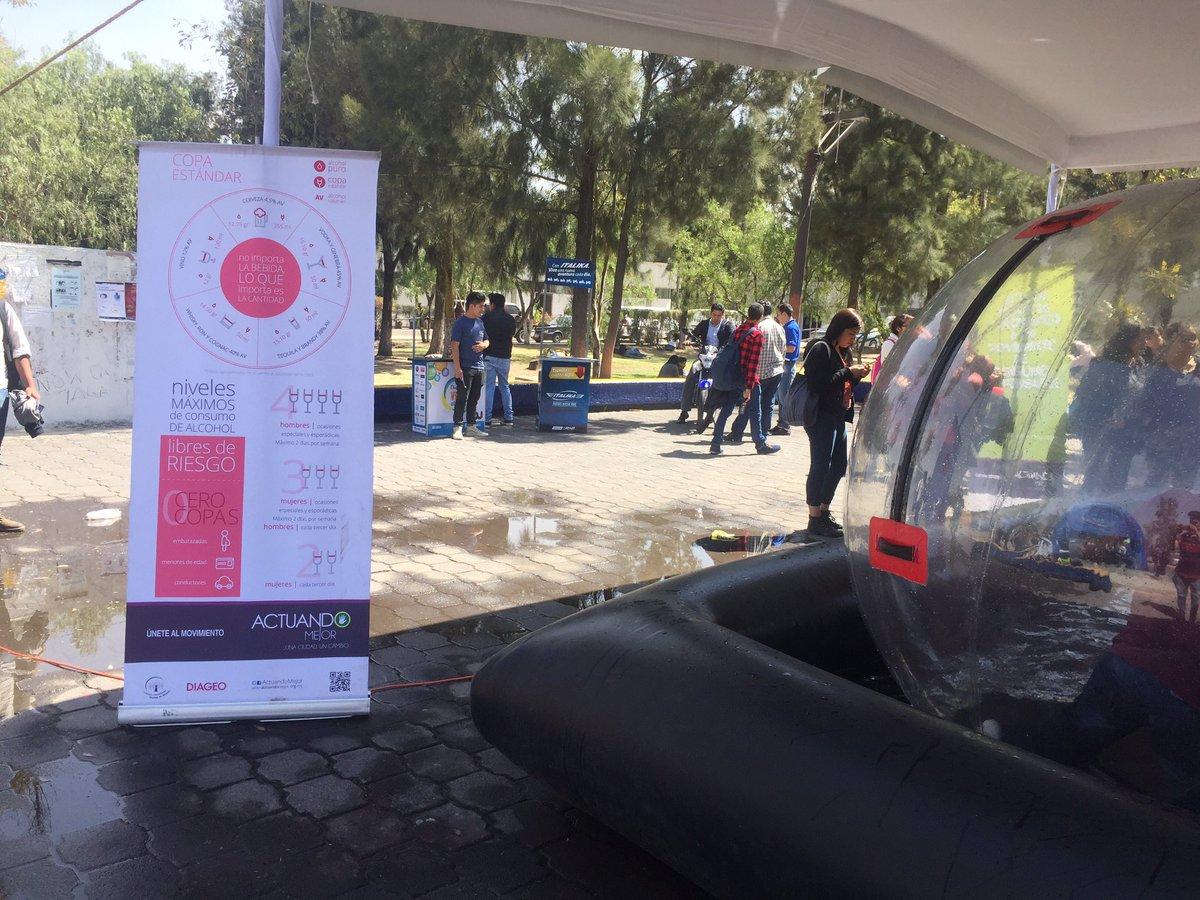 @ActuandoMejor  en @FESAragonUNAM ¡acércate  estacionamiento para un consumo responsable del alcohol y divertidas dinámicas! #Entérate https://t.co/3WtvDK3QJt