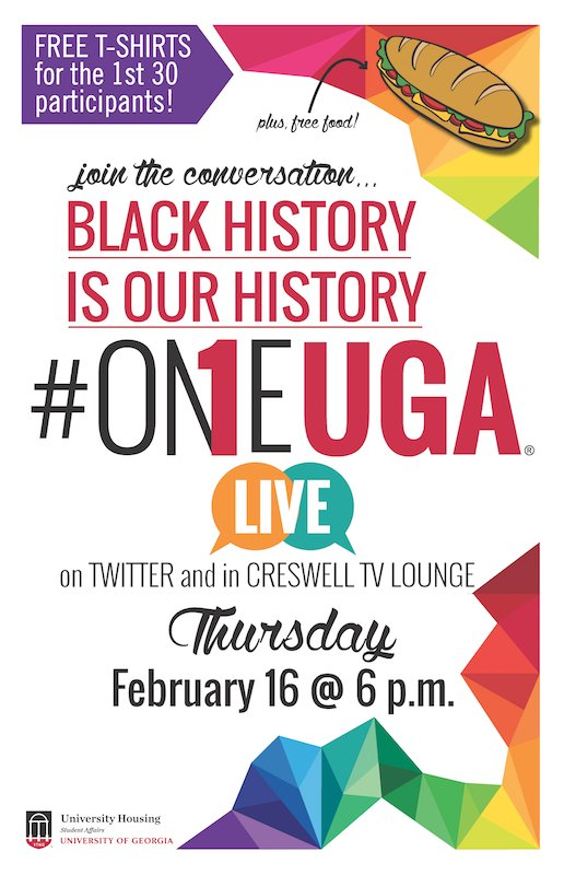 Thumbnail for #OneUGA: Black History is Our History