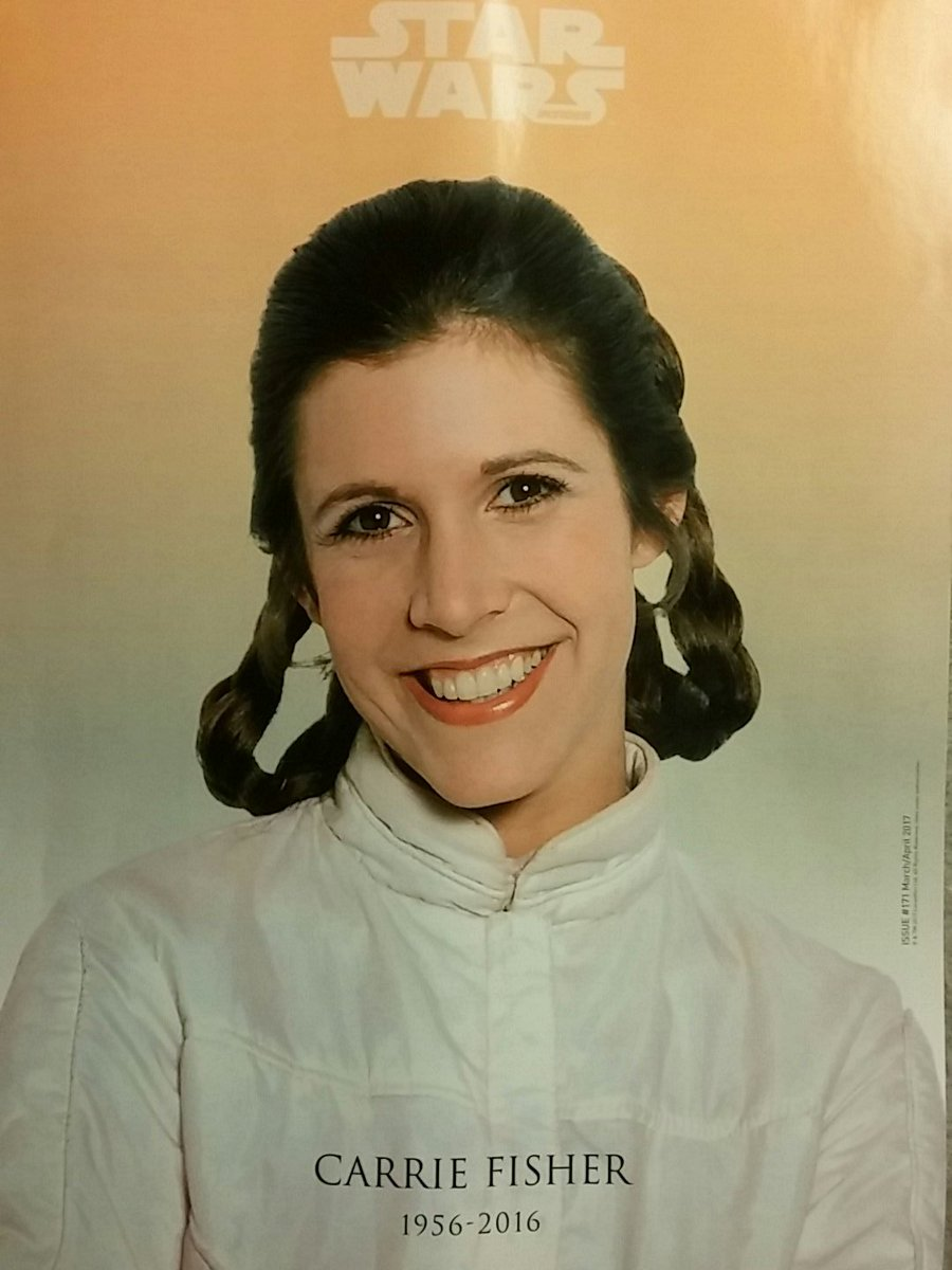 Wonderful and touching tribute about #Carrie Fisher from @fangirlcantina in the newest issue of @SW_Insider. #OurPrincess<br>http://pic.twitter.com/Bk4MErLSwy