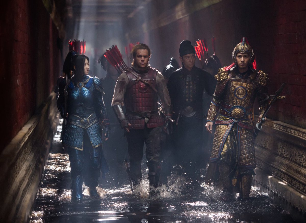 Matt Damon says 'The Great Wall' points to future of #movies. https://...