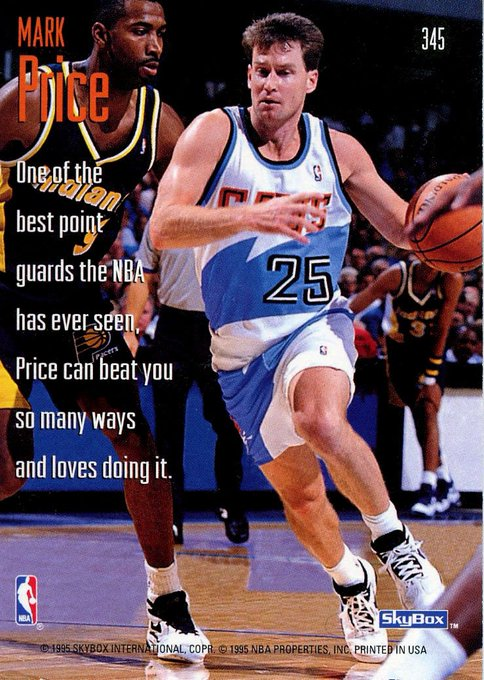 "Happy birthday to Mark Price! The copy on this card, ""and loves doing it\"" always cracked me up."