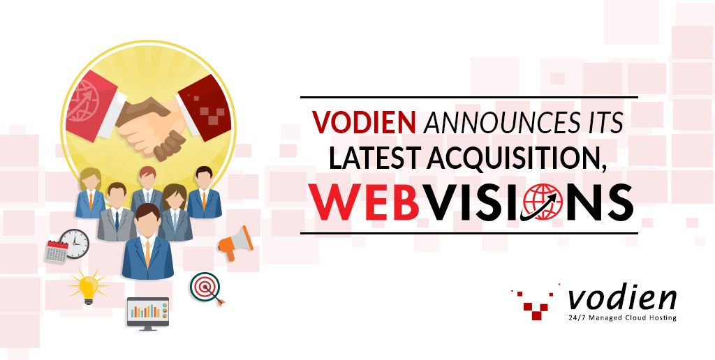 Vodien just acquired Webvisions, the shared hosting division of iWV. Read more about this exciting news! https://t.co/eTKn3BRU2O https://t.co/NjG1A9ZGKX