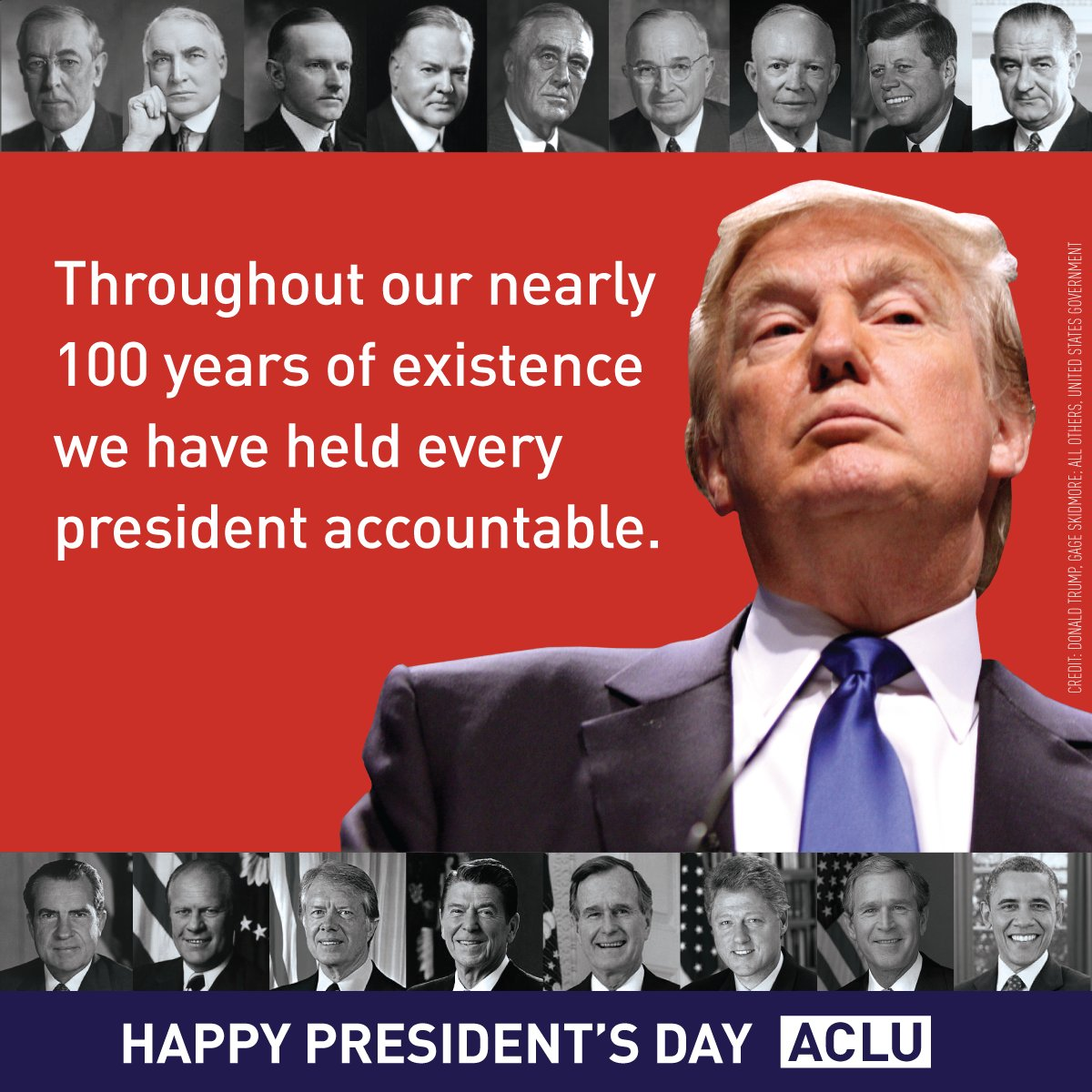 Happy President's Day from the ACLU. https://t.co/p0WfuXRo1X