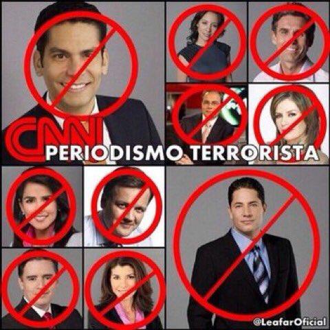 ES LA @CNNEE QUIEN ENCABEZA LA #CampañaDeMiedo CONTRA VENEZUELA Y LOS...