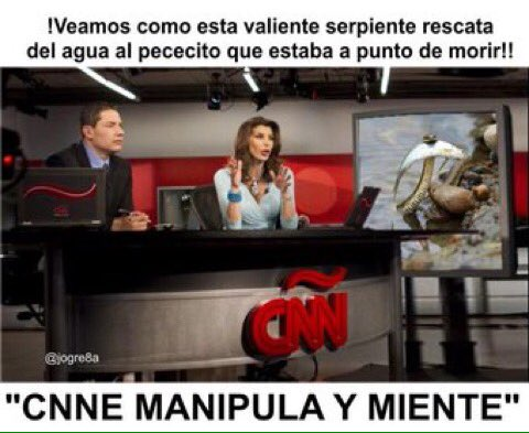 NO CREEMOS EN CNNE NI MEDIOS DE DERECHA QUE MANIPULAN Y MIENTEN #CNNop...