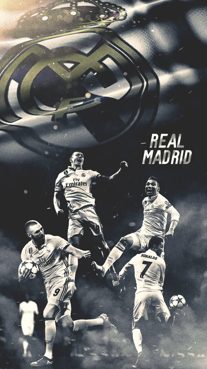 Footy Wallpapers On Twitter Real Madrid Iphone Wallpaper Rts Much Appreciated Casemiro Kroos Ronaldo Benzema Realmadrid Ucl