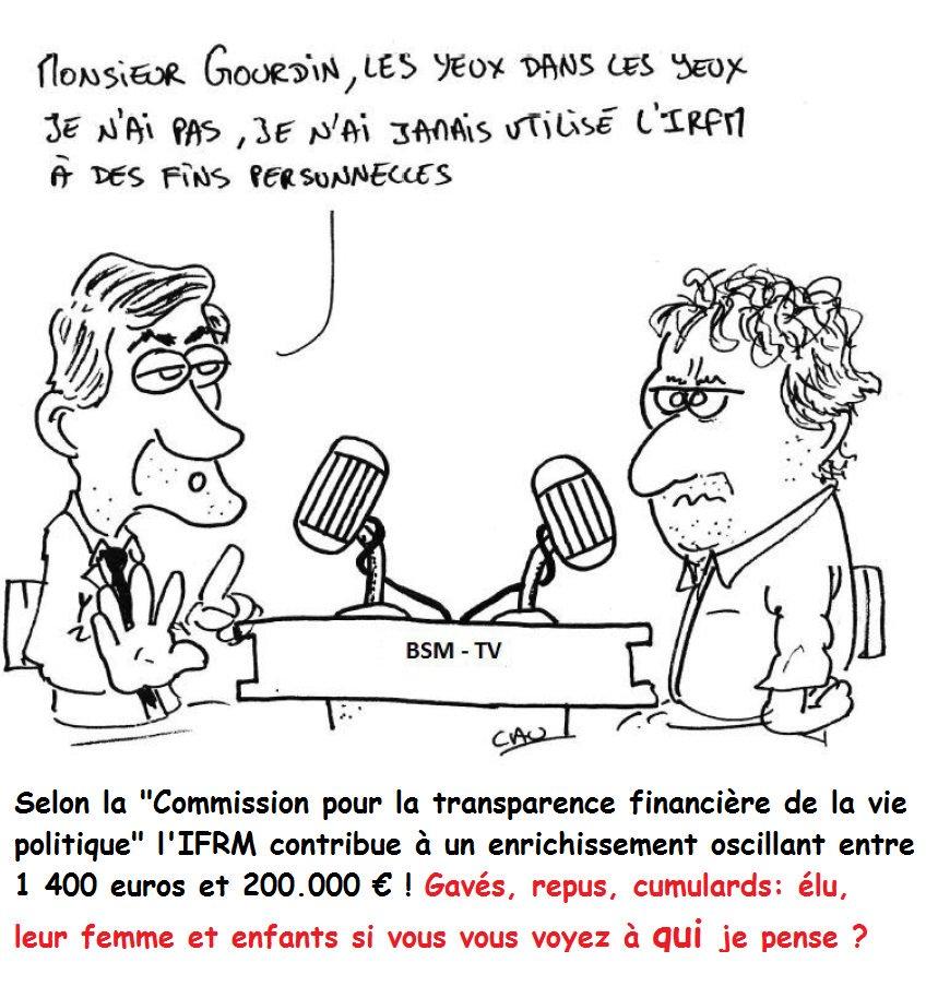 Transparence sur l&#39; IRFM ? l'avis de Claude Bartolone, président de l'Assemblée nationale. #Quotidien <br>http://pic.twitter.com/QR8Wap0EqD #DirectAN<br>http://pic.twitter.com/loCXMQgfXd