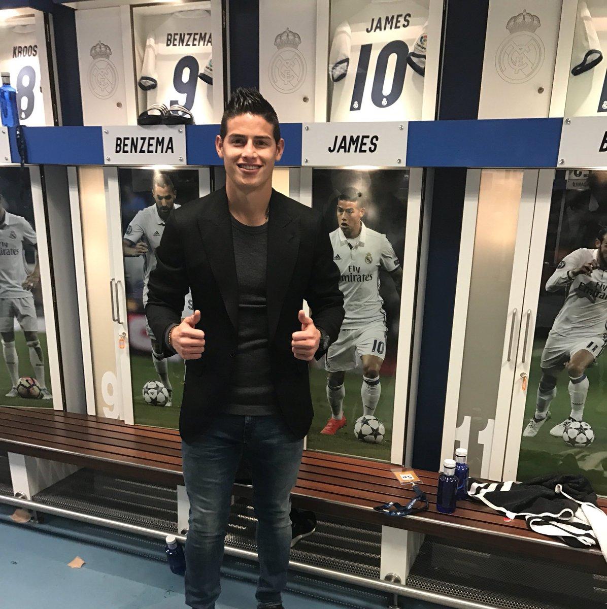 James Rodriguez On Twitter Gran Trabajo El Dia De Hoy En Champions Halamadrid