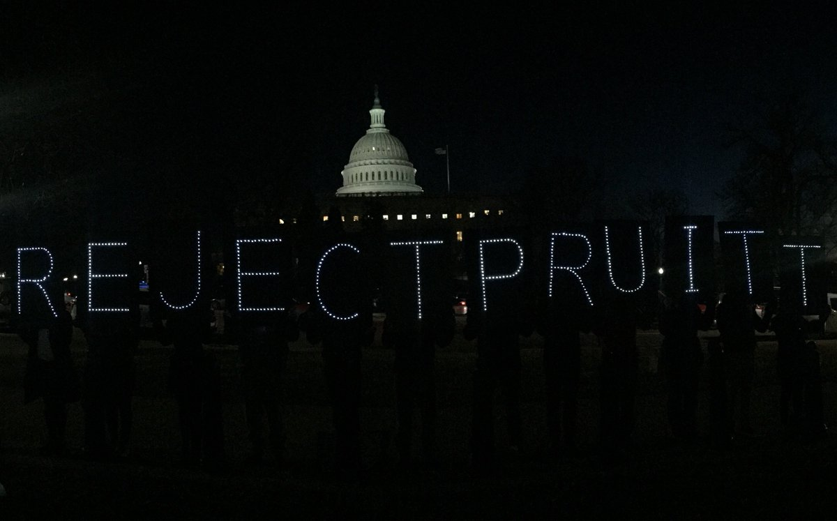 Re-tweet if you agree: we need to #rejectpruitt! https://t.co/XyGbqSpL5Y