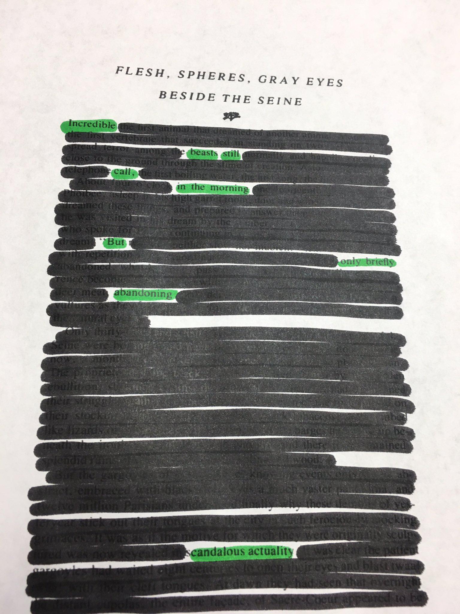 @netnarr #blackoutpoetry #netnarr https://t.co/OvuNaED8rJ