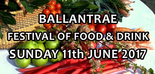 @Ballantrae Festival of Food & Drink Sunday 11th June 2017. Put a note in your diary!