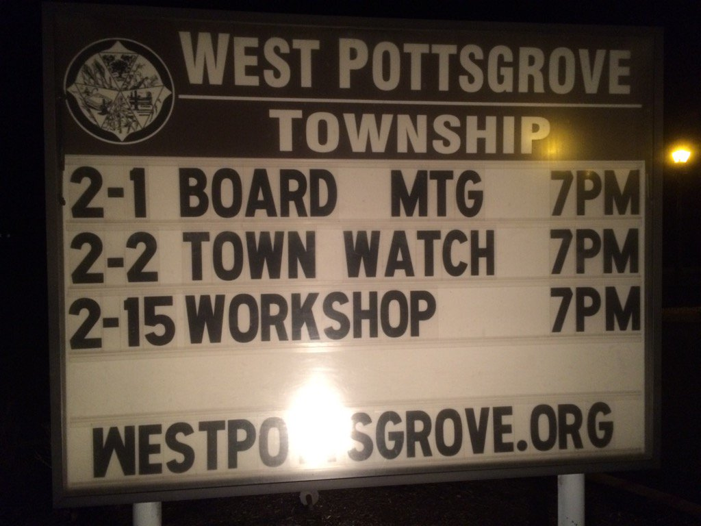 Tweeting from West Pottsgrove tonight. Follow along https://t.co/E4ynHu1Rmr