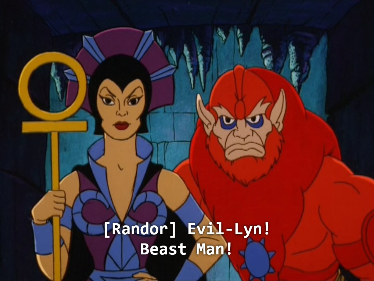 I love that she's just Evil Lyn. Maybe there's a Good Lyn out there too https://t.co/FQdyFQusQu