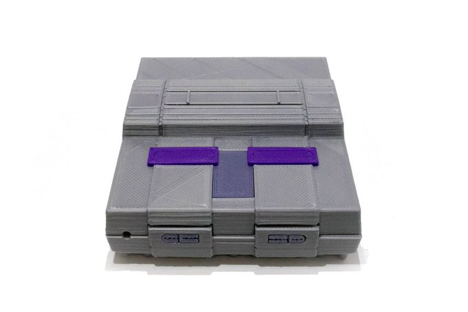 3D Printed SNES Case for Raspberry Pi by 3Dpstuff