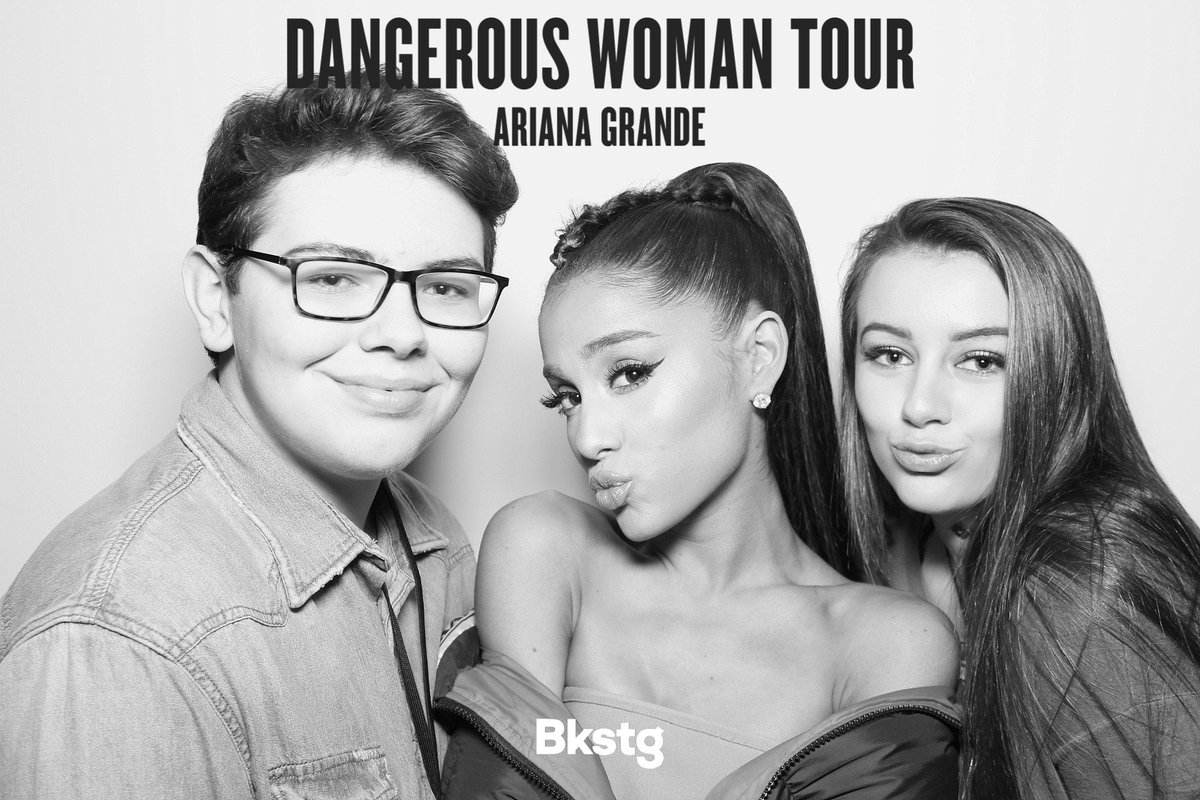 Ariana grande today on twitter check out arianas meet greet ariana grande today on twitter check out arianas meet greet photos at the dangerouswomantour in nashville last night httpst59b1wrxc5x m4hsunfo
