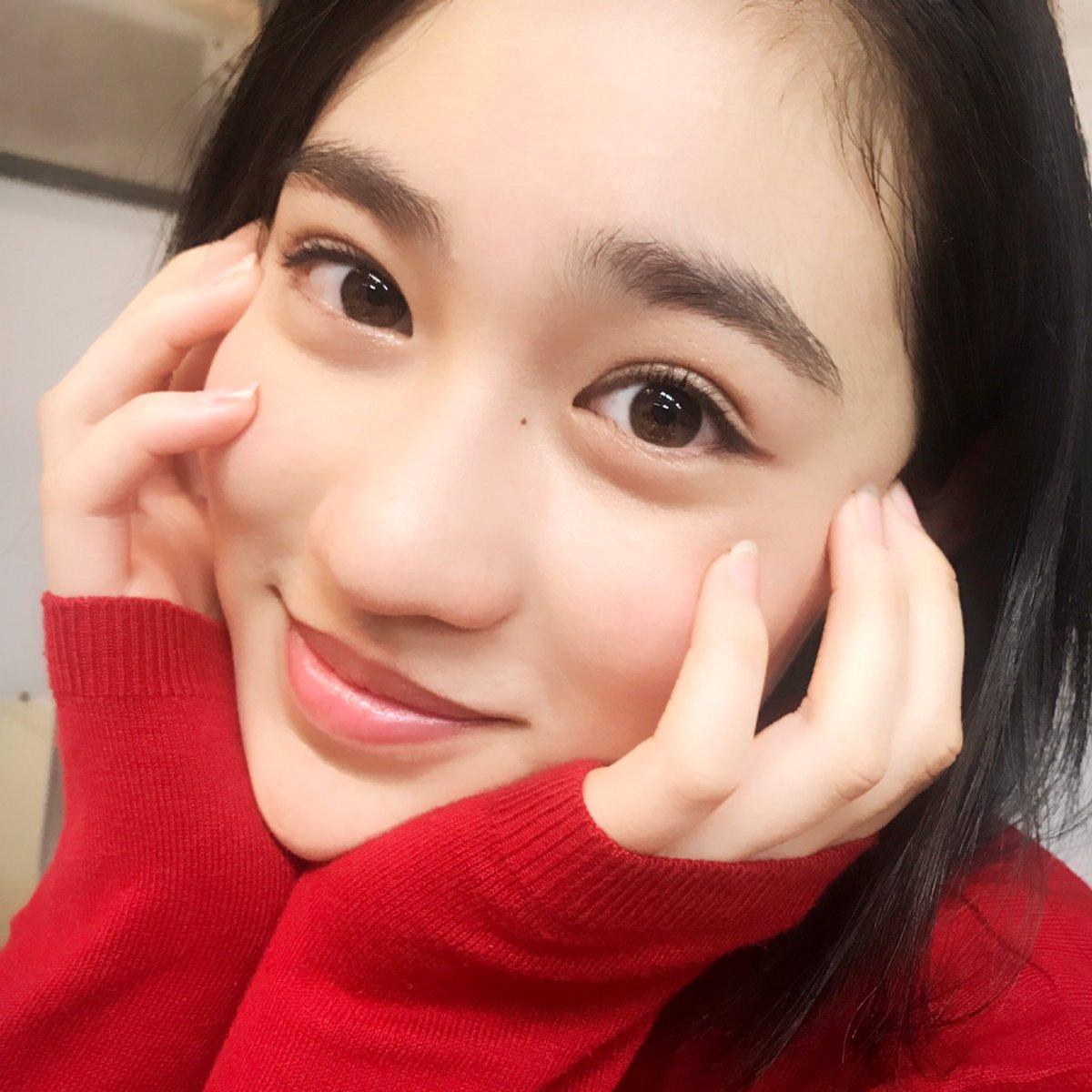 今日もとっても楽しそうな莉佳子🤗 #Seventeen撮影中 #STニュース #佐々木莉佳子