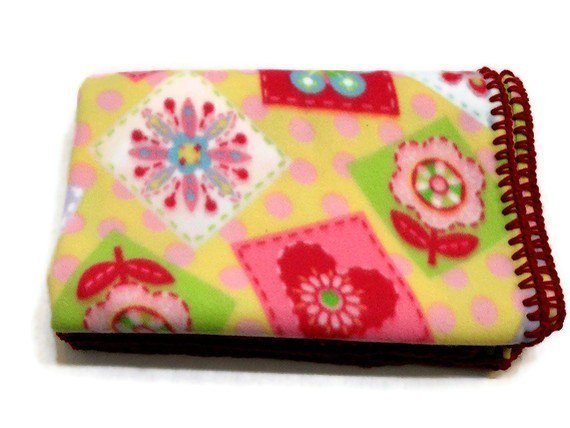 #Fleece #Baby Blanket #Patchwork Floral #Blanket by AddSomeStitches  http:// etsy.me/1REXRrb  &nbsp;   #EpicOnEtsy #Decor<br>http://pic.twitter.com/gPsUnCTWTR