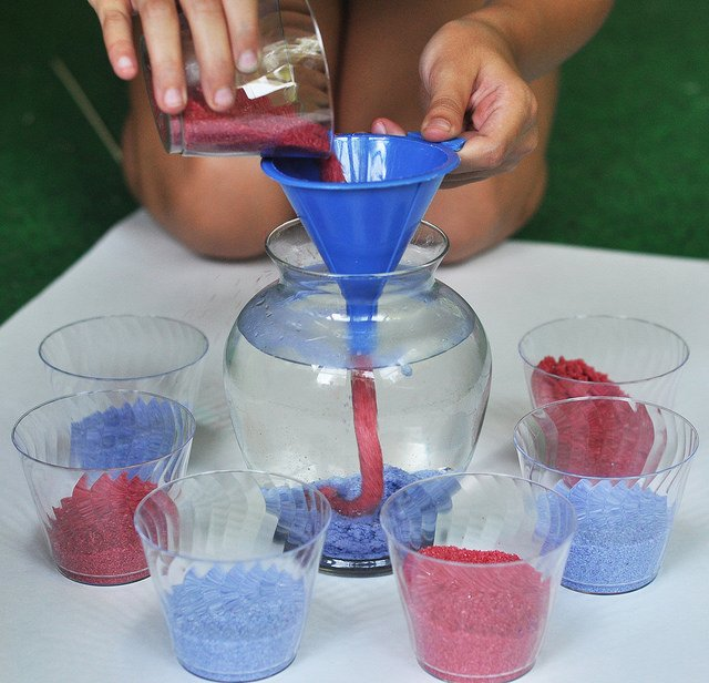 DIY Aqua Sand {Tuesday Talk}