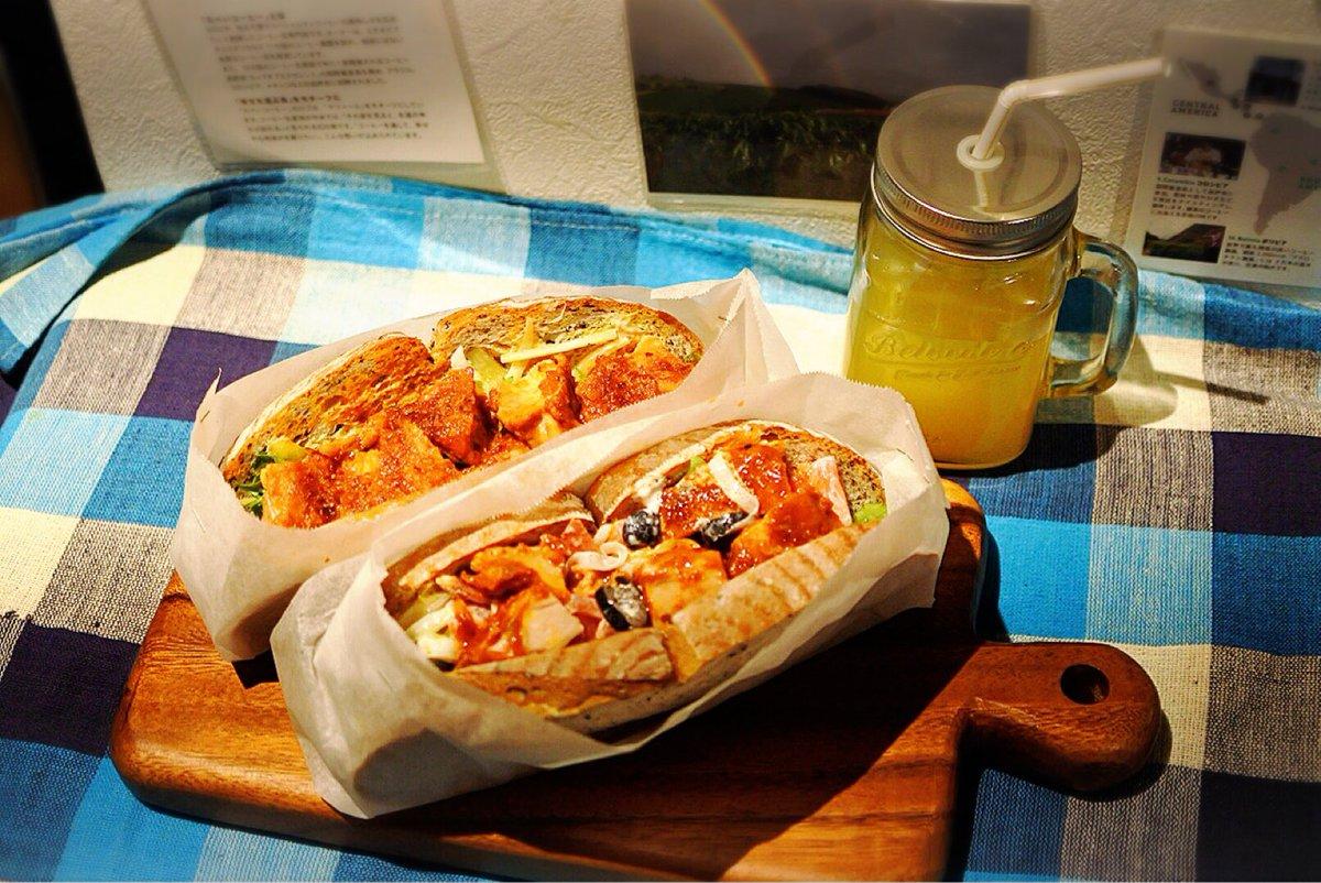 サンドイッチ試作!! ラクエの人気自家製パンを使用しています( •̀ .̫ •́ )✧