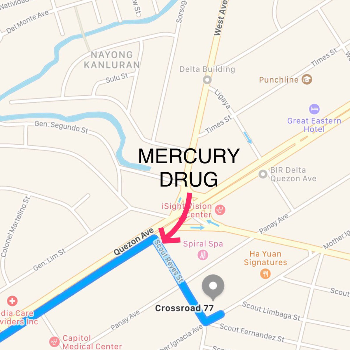 UST Engineering SC On Twitter DIRECTIONS TO CROSSROADS CENTER - Location map ust