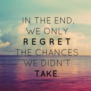 Live your life with #noregrets! #YOLO #lifelessons #WordsToLiveBy #wednesdaymotivation <br>http://pic.twitter.com/SWuUBih5M7