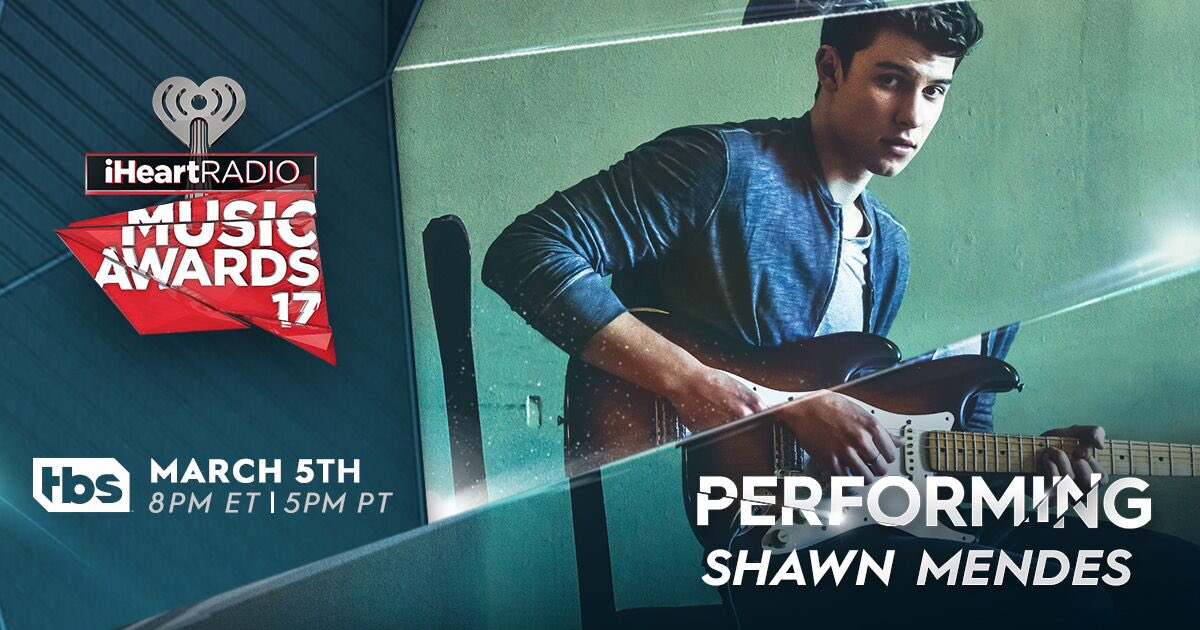 Performing at @iHeartRadio #iHeartAwards on March 5th make sure to watch! 🎸