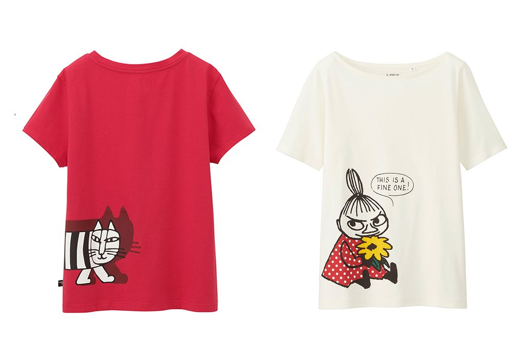 ユニクロのTシャツブランド「UT」17年春夏、ムーミンやスヌーピーら人気者が大集合 fashion-…