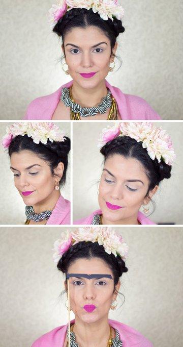 Tutorial: Frida Kahlo para o Carnaval