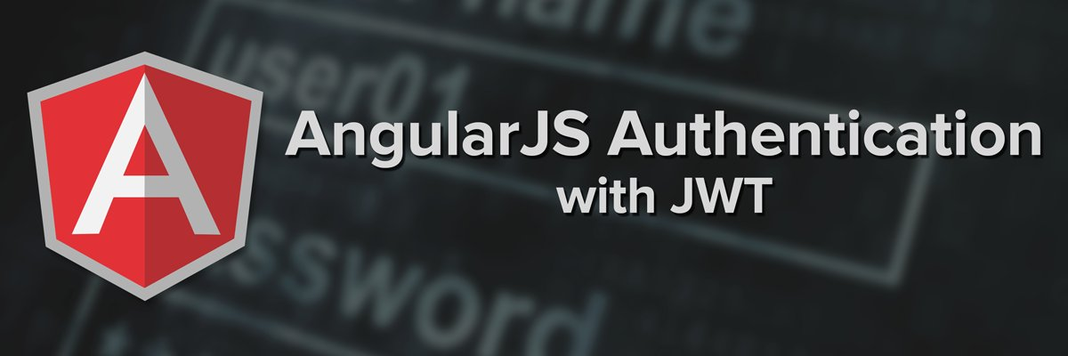 AngularJS Authentication with JWT