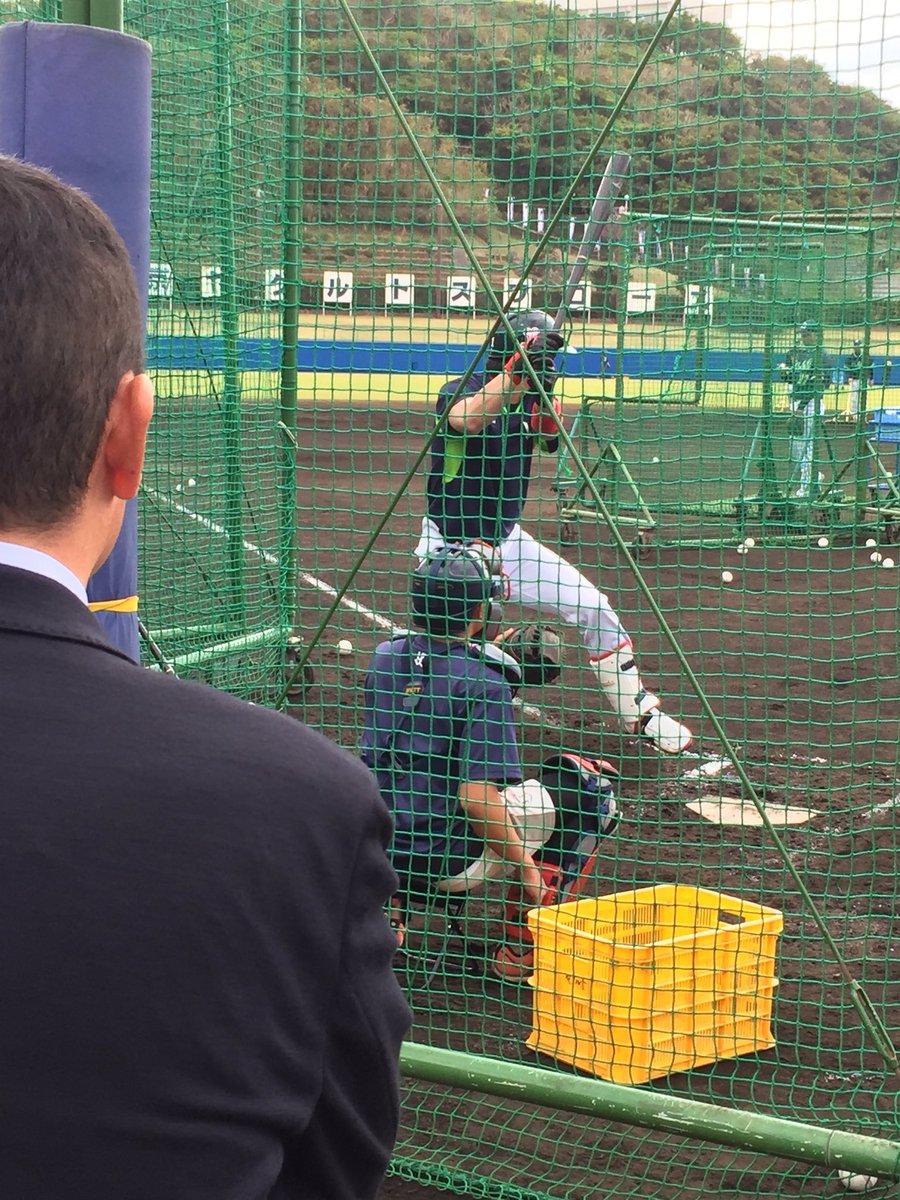 今でも気に掛けてます。 山田哲人選手、 担当スカウトの松田慎司さん