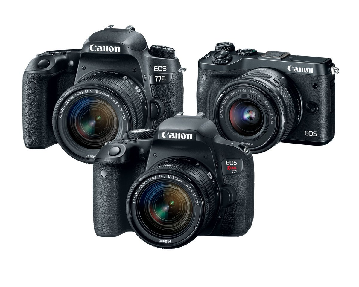 Canon announced three new cameras and none of them shoot 4K video