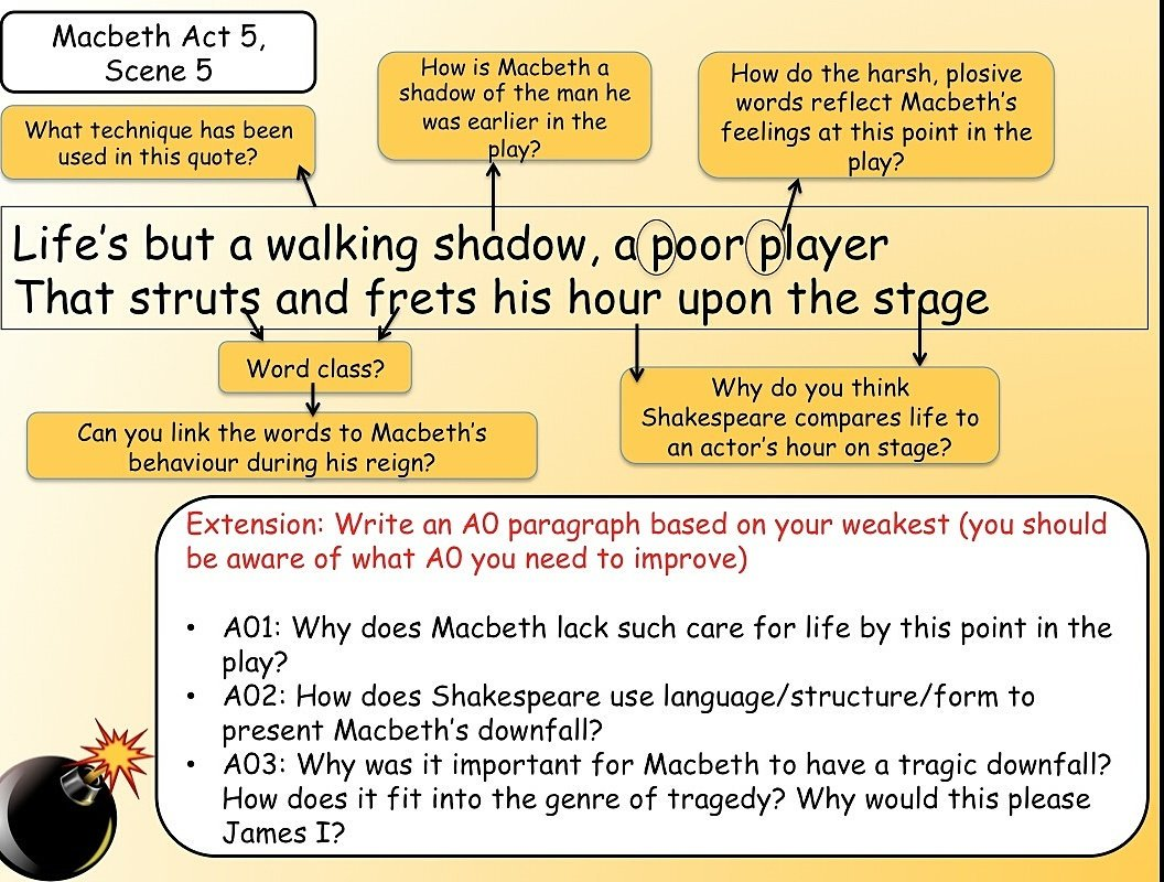 Use of Language in Macbeth