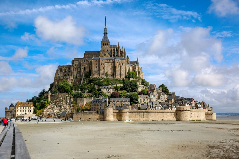 Is there a more sublime sight than Mont Saint-Michel?! Who's visited h...