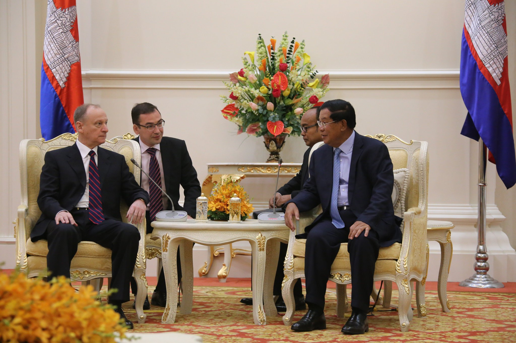 Thumbnail for Визит Секретаря Совета Безопасности Российской Федерации Н.П.Патрушева в Королевство Камбоджа
