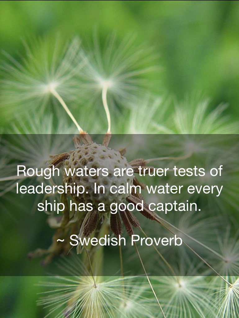 This Swedish proverb is a great mantra for your day https://t.co/VdtAaZrKBv