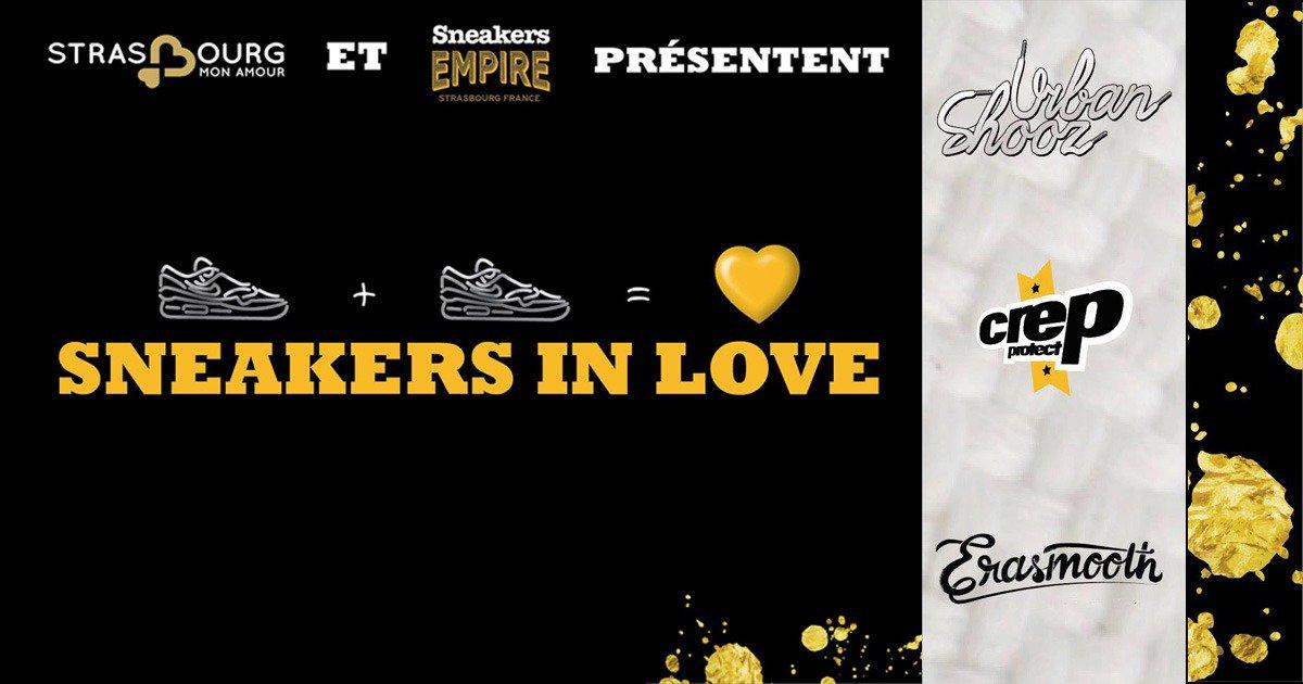 D-day ce soir 18h au #CafedesAmours avec @SneakersEmpire pour la Soirée #Sneakers In Love #StrasbourMonAmour<br>http://pic.twitter.com/OA1uNvbqCB