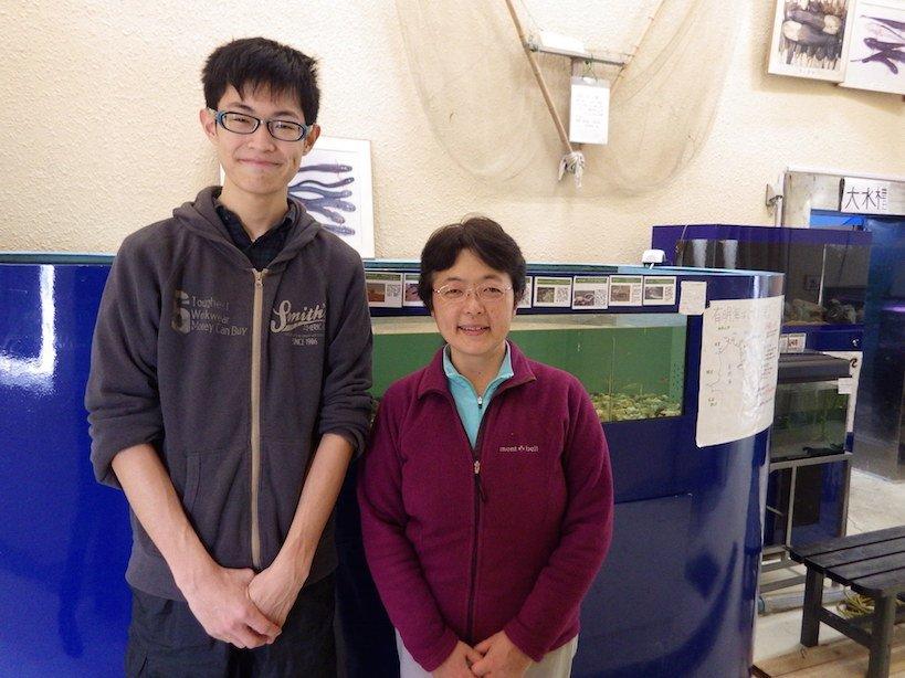 やながわ有明海水族館の館長、小宮さんと。お会いできてよかったです。 #九州への旅 #有明海 #福岡