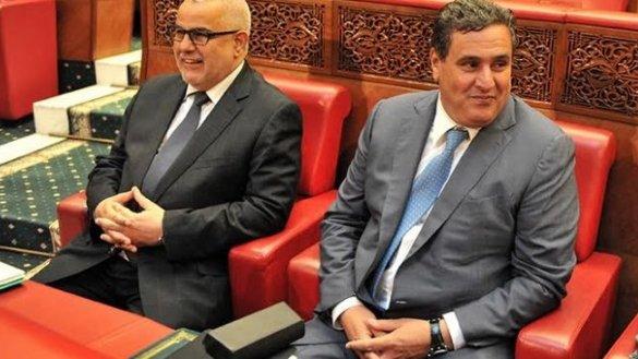 #Gouvernement: #Akhannouch et #Benkirane refusent de communiquer sur les #négociations  http:// bit.ly/2lUlvlm  &nbsp;   <br>http://pic.twitter.com/08TcqZ7mZp